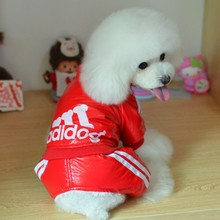 Small pet Puppy Dog Clothes Fleece Hoodie Sweater Sport Style Pet clothes New style