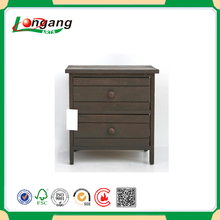 cheap Wooden storage cabinet with drawers /wooden beside tall table /antique kitchen cabinet