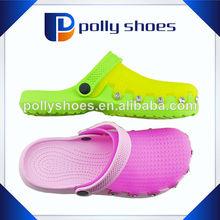 Nova moda geléia tamancos, meninas clog calçados