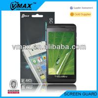 GuangZhou mobile phone accessories for Blackberry Z10 oem/odm (Anti-Fingerprint)
