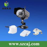 Wireless camera digital home security alarm system