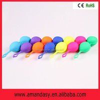 Waterproof 100% crazy sex ball toy, Easy for insertion tighten vaginal smart ball ABS001