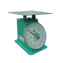 100/120 Kilograms Stainless Flat Plate Mechanical Accurate Scale