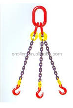 en standard g80 single leg lifting chain sling