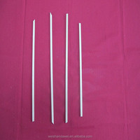 wooden skewer in paint mixing sticks
