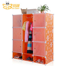 wholesale clear plastic storage cabinet for shoes and clothes