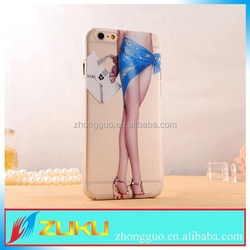 OEM DIY side printed hard pc phone case for iphone 6