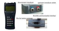 Handheld Ultrasonic flowmeter/RS232 water meter