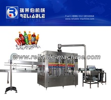 Automatic Carbonated Beverage Soft Drink Washing Filling And Sealing Machine