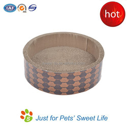 Sweet Corrugated Cardboard Cat Scratcher