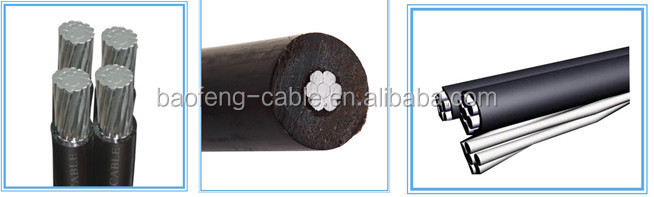 Low voltage copper conductor xlpe insulated and pvc sheahed 3 core 25mm2 power cable