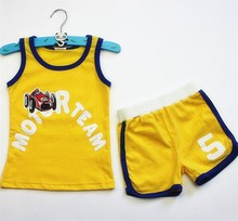cute baby boy clothing sport set custom printed baby clothes brande cheap price baby toddler clothing