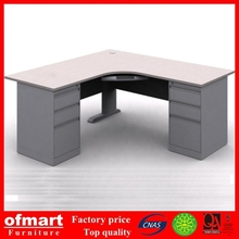 China made metal office computer table design