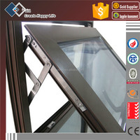 High quality excellent water-proof aluminium push up window