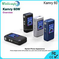 Newest digital display 60W vapor mod Kamry 60 electronic cigarette tesla