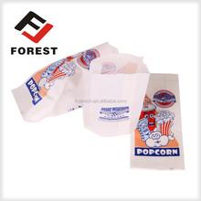 Custom food grade box popcorn packaging/custom made Custom Paper Popcorn Chicken Packaging popcorn bags