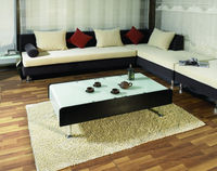 Modern design hot bending glass center coffee furniture table