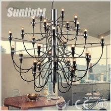 Zhongshan Hot Sell Modern Decorative Remeo Moon Ceiling Chandelier Iron summer fruit Pendant Light