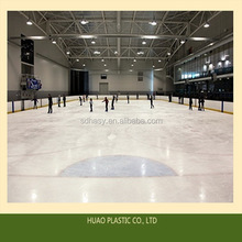 Super quality hot sell man made synthetic ice rink and hockey