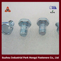 galvanized bolts 8.8 concrete forming wedge bolts hex washer head bolts