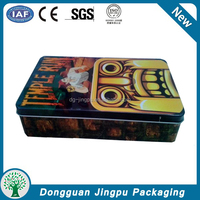 hot selling good quality customized CD/DVD packing tin case