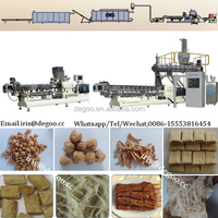 Automatic fibre soy protein meat processing plant from Jinan DG machinery company