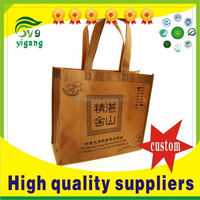 Alibaba china Cheapest foldable non woven shopping tote bag
