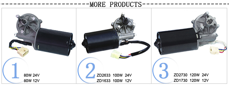 Screw Type Windshield Automobile 12v wiper motor car