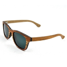 Pure wood sunglasses , skateboard sunglasses ,bamboo sunglasses with case