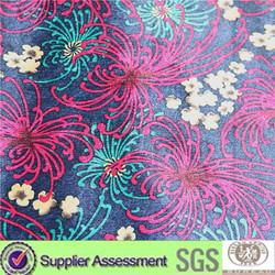 sofa fabric/flocking velvet bonding TC /TC backing sofa fabric