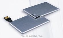 Memory Full Printing Logo Metal Card USB