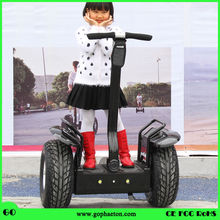 Off road self balance Personal transport stand up motor electric vehicles