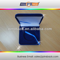 The Velvet box for Metal Coins and Medal , Low price for medal box