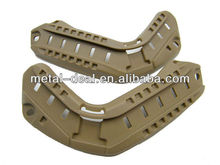 Military Army Tactical Polymer Fast MICH Airsoft Gear Side Helmet Rail