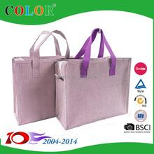 OEM Coloured Metallic shopping bag,metallic non woven bag