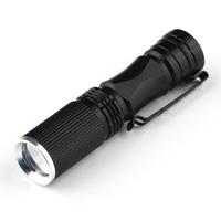 LED Torch Flashlight 600 Lumen Zoomable Focus 7W Q5 Mini Tactical Waterproof Flashlight LED