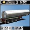 Top Quality Three Axles 50000L fuel tank trailer sale oil tank semi trailer price