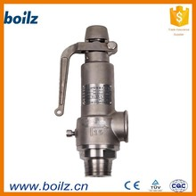 high pressure safety relief valve lever operated safety relief valve