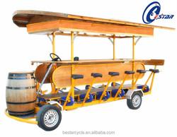 2015 four wheel cargo motorcycle four wheel tricycle beer bike