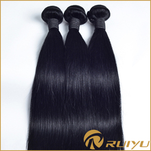 Hot new products for 2015 cheap milky way silky straight human hair weft