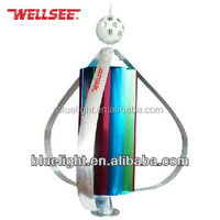 High quality vertical axis wind turbines sale WS-WT400 Wellsee small wind turbine for home