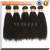Durable best sell kinky curly clip in hair extensions