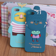 custom design phone case silicone 3d cartoon cell phone case