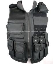 Buena calidad de swat chalecos tácticos, chaleco táctico militar, combate táctico chaleco