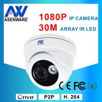 Asenware 1080 Indoor Surveillance Equipment Digital Security Camera , POE Optional Zoom Camera Module