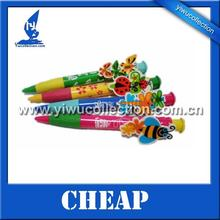 28cm big ball pen, giant ball pen in butterfly and bee shape