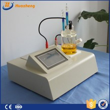 Karl Fischer Coulometric water tester, digital LCD screen oil water testing equipment