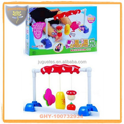 Hot selling indoor baby play gym with light and music