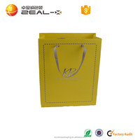 Canada customized fine workmanship factory directly supply gold foil stamping garment shipping bag