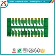 PB free soft gold plating 2 layer pcb for wire bonding
